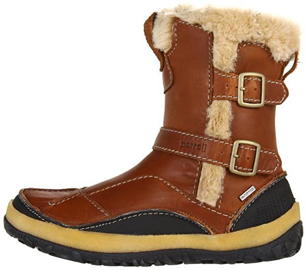 13e5422a481d6 Amazon.com | Women's Merrell Taiga Buckle Waterproof (10 M in Camel) | Shoes