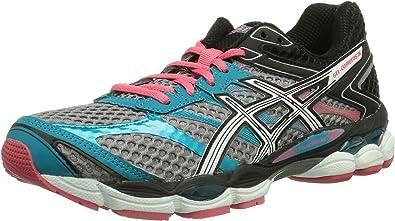 ASICS Gel-Cumulus 16 - Zapatillas De Correr En Montaña para Mujer, Color Silber (7101-aluminium/white/paradise Pink), Talla 36: Amazon.es: Zapatos y complementos