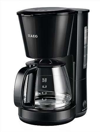AEG KF 3200 EasySense - Cafetera de goteo (filtro extraíble, válvula antigoteo, apagado de seguridad automático): Amazon.es: Hogar
