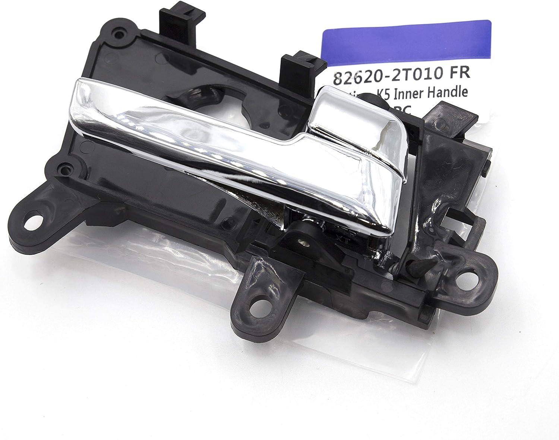 4Pcs 1Set Interior Inside Front Rear Driver Passenger Chrome Door Handle 826102T010 826202T010 For Kia Optima 2011 2012 2013