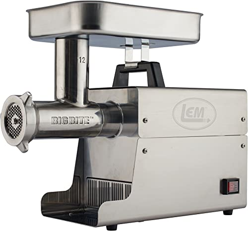 LEM-Products-Stainless-Steel-Big-Bite-Electric-Meat-Grinder