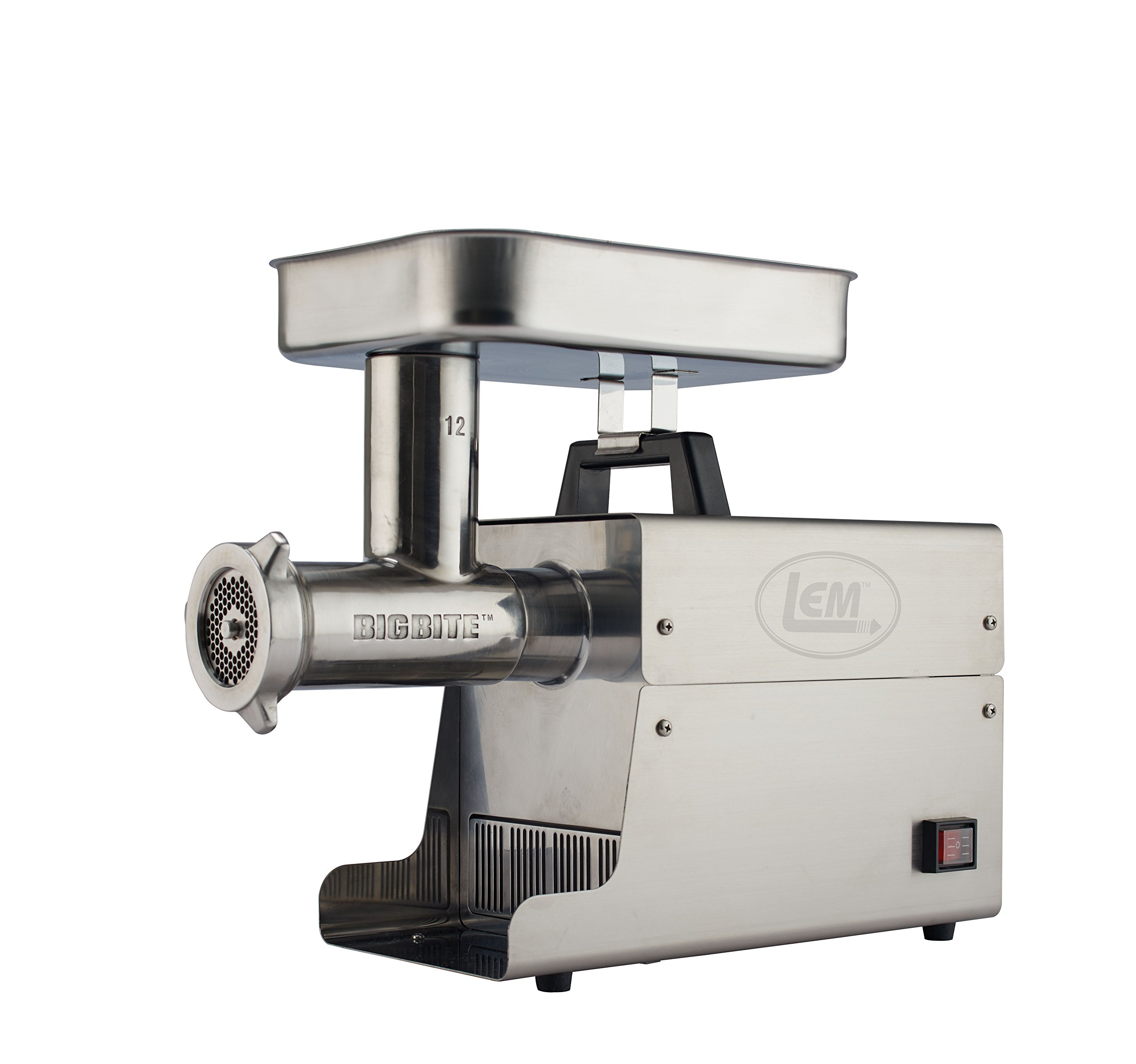 LEM Products 17801 Big Bite #12 .75HP Stainless Steel Electric Meat Grinder by LEM
