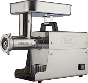 LEM Products Stainless Steel Big Bite Electric Meat Grinder