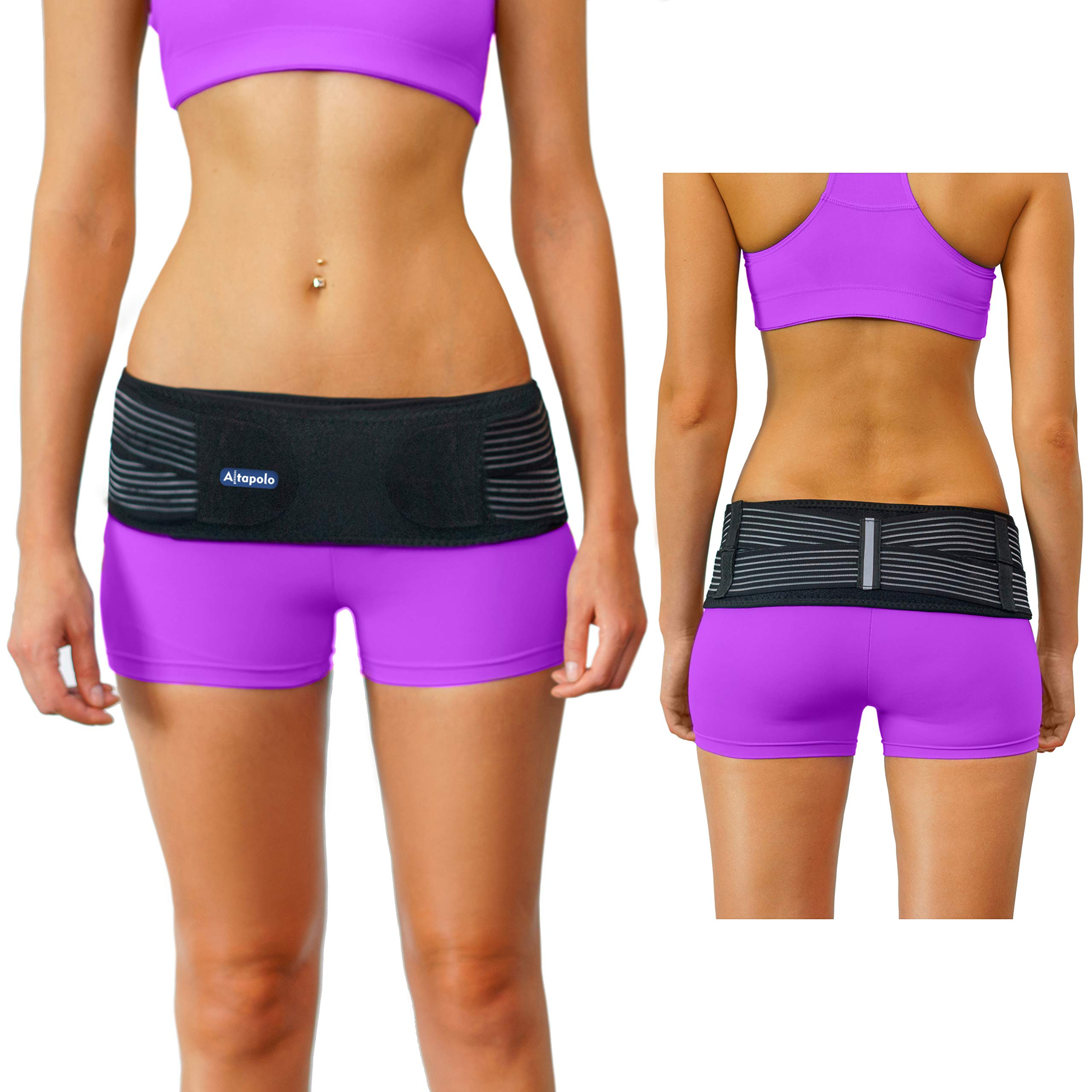 Altapolo Si Belt for Women and Men - Stabilizing Si Brace Alleviates Inflammation Sciatica Belt - Anti-Slip Si Joint Belt - Trochanter Sacroiliac Support Belt for Maximum Comfort