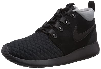 magasin en ligne 30498 f16d4 Nike Rosherun Sneakerboot, Baskets Mode Homme - Noir (Black ...
