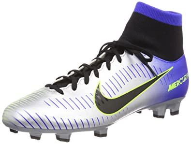 premium selection 3c86f 860a0 Nike Mercurial Victory Vi Racer Blue/Black - Chrome Volt Ankle-High Soccer  Shoe 11M 9.5M