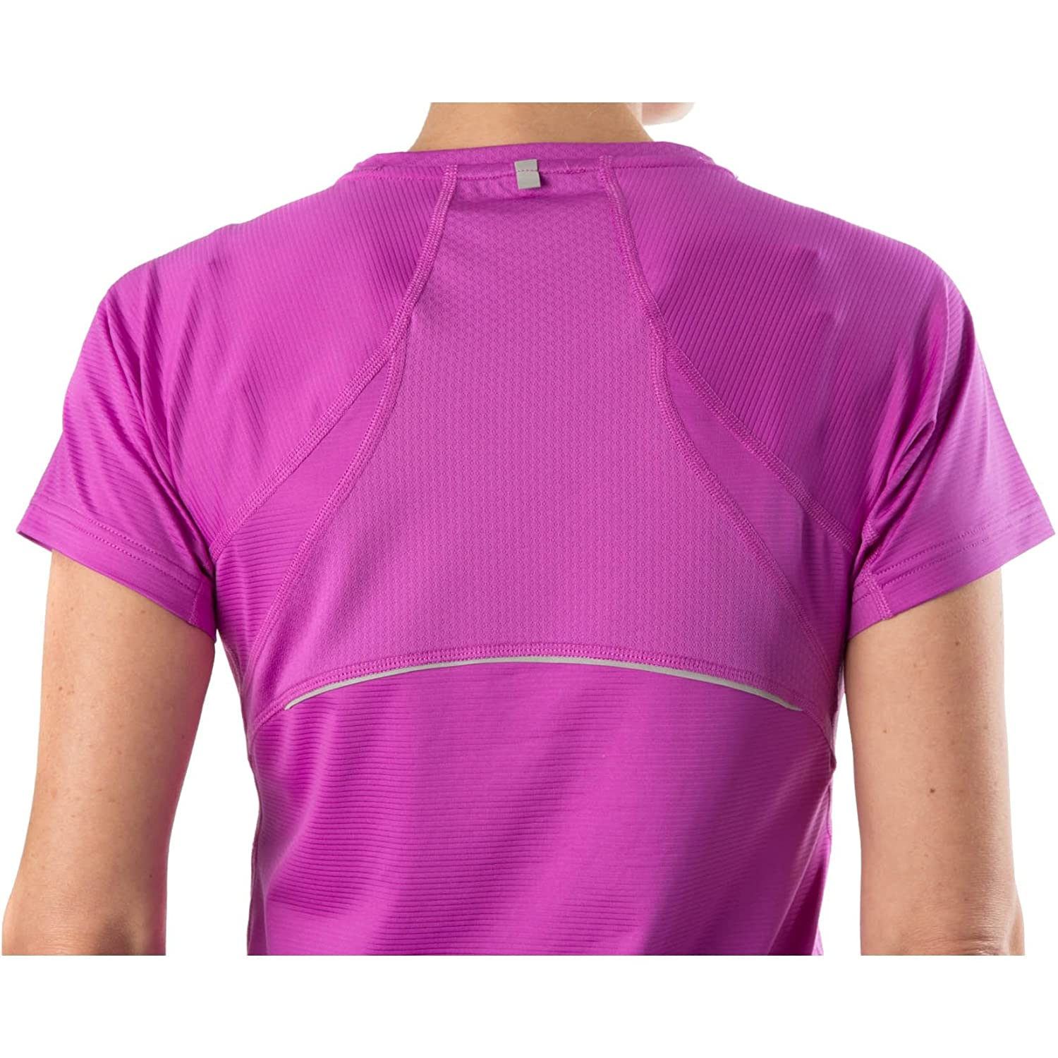 KS Womens Moisture Wicking Active Yoga Tee Small Pink Small Lily