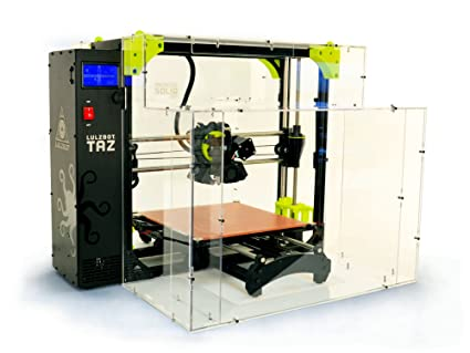 Amazon.com: lulzbot Taz 6/Mini Impresora 3d, Transparente, 1 ...