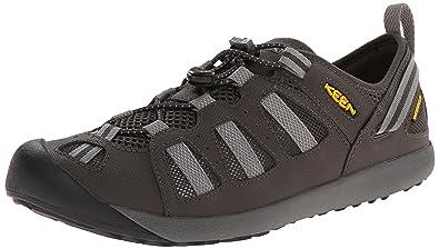 Keen Class 5 Tech Walking Schuhe – SS15, Schwarz - Raven/Gargoyle - Größe
