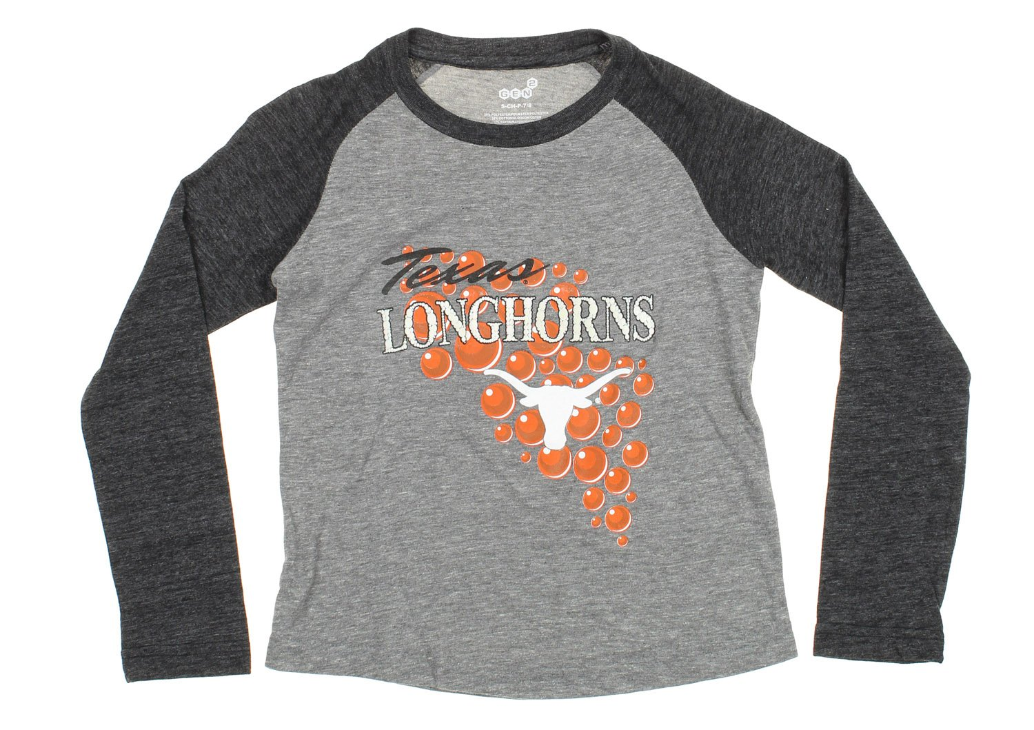公式 NCAAテキサスLonghorns Youth Girls母のパール長袖Tシャツ、グレー Medium (10 (10/12) B06XTBTDBD/12) Youth B06XTBTDBD, タガワグン:41e5c099 --- a0267596.xsph.ru