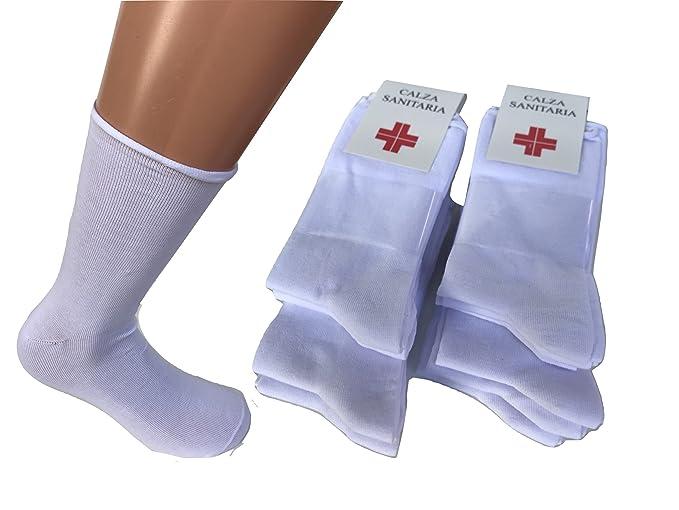 cerca l'autorizzazione il prezzo rimane stabile molti alla moda 12 paia calze sanitarie senza elastico con taglio laser in cotone