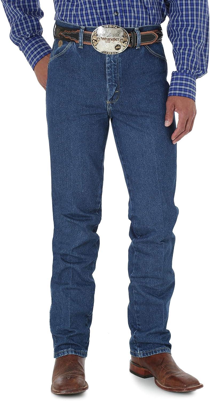 Wrangler Men's ! Super beauty product restock quality top! George Strait Cowboy Jean Slim Fit 55% OFF Cut