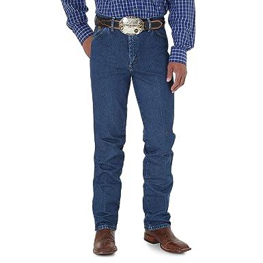 3daefa05 Wrangler Men's George Strait Cowboy Cut Slim Fit Jean at Amazon ...