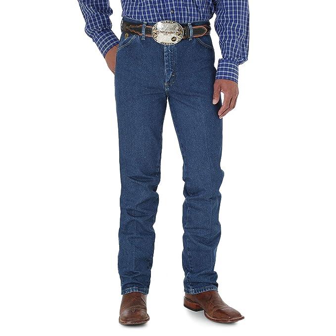 f148a4b494a Wrangler Men's George Strait Cowboy Cut Slim Fit Jean