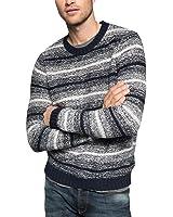 edc by ESPRIT Herren Slim Fit Pullover Grobstrick