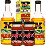 REV-X Super Ultimate Kit for Diesel - 4oz High Performance Oil Additive (2) + 8oz Ultimate Fuel Treatment (2)