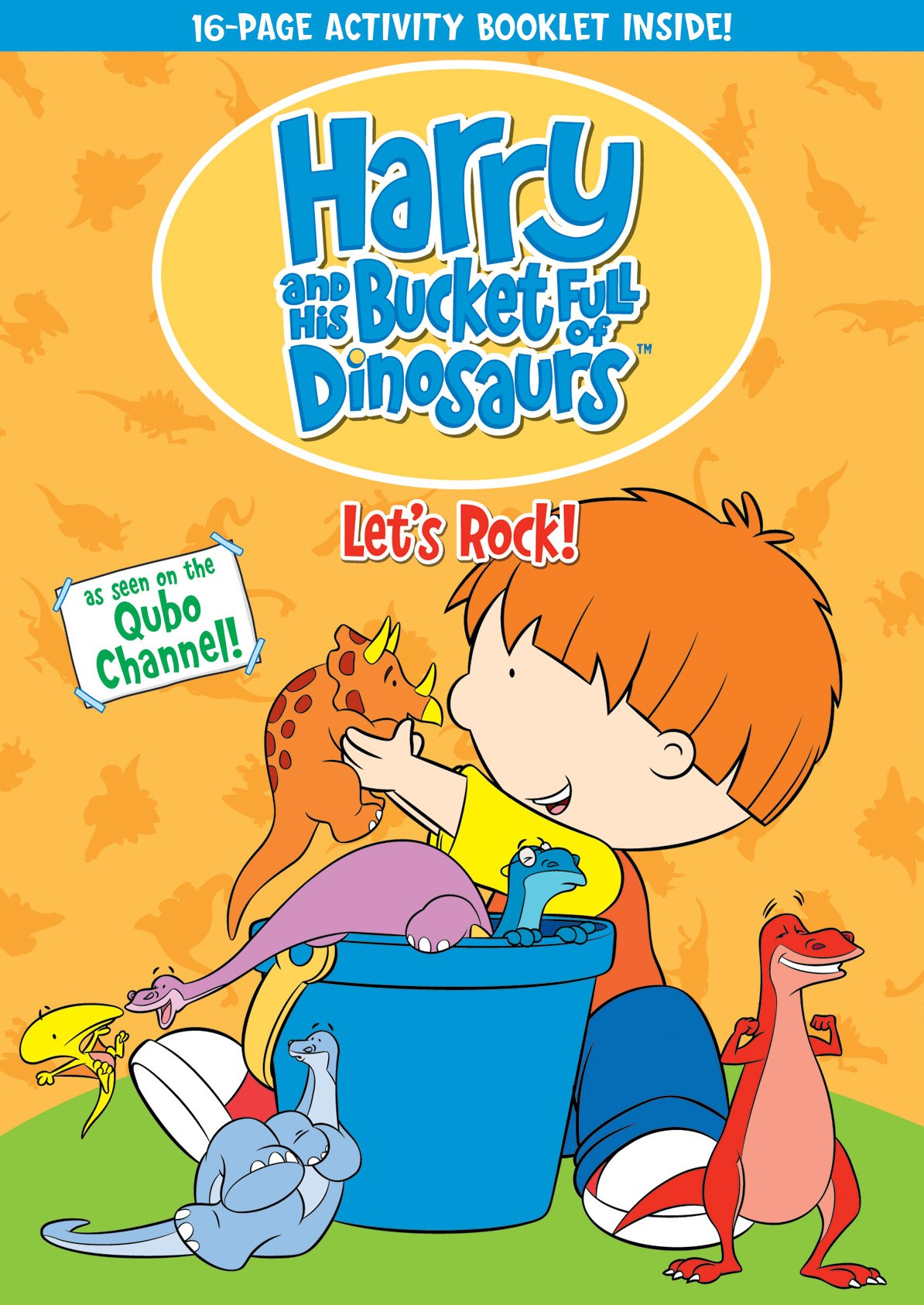 DVD : Harry And His Bucket Full Of Dinosaurs: Let's Rock! (DVD)