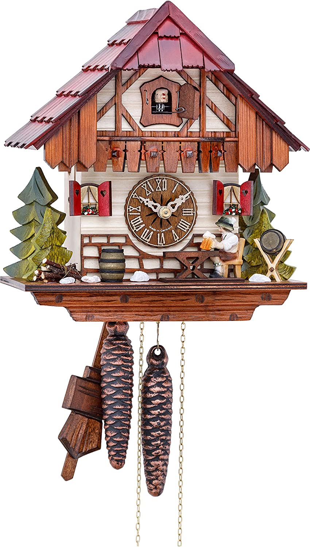 Kammerer Uhren Hekas Cuckoo Clock Black Forest House KA 877 EX