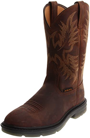 Amazon.com | Ariat Men's Maverick II Pull-on Work Boot ...