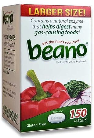 Amazon.com: Alivio de los gases digestivos de Beano 150 ...
