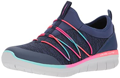 Skechers Chaussures Chaussures Chaussures Femme Bleu Marine