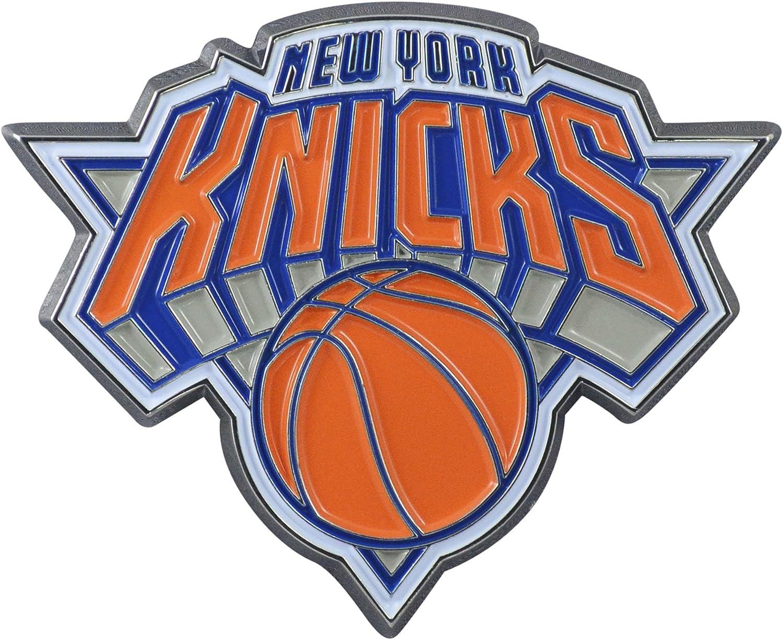New York Knicks Metal 3D Color Emblem 2.6x3.2 FANMATS NBA