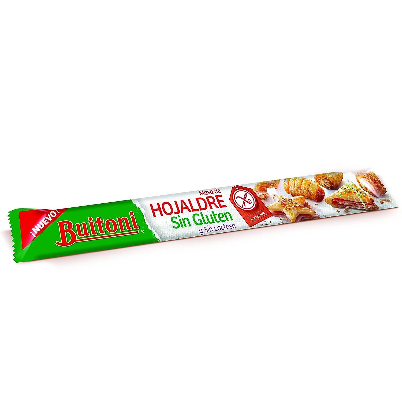 Buitoni Masa de Hojaldre sin Gluten - 280 gr: Amazon.es ...