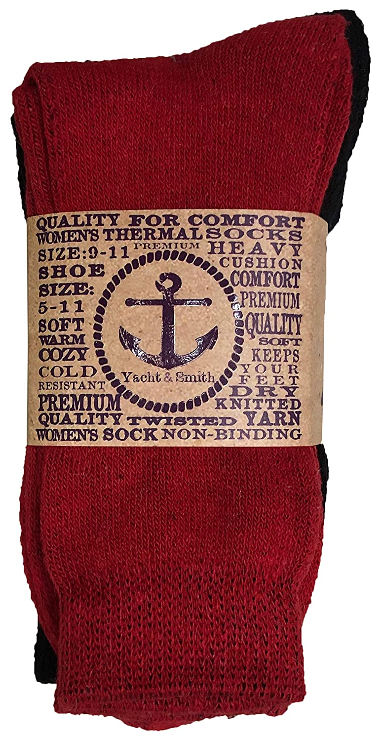 61e63e4a1a7b7 Yacht   Smith 48 Pair Mens and Womens Thermal Winter Socks