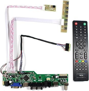 Kit for B156XTN02.1   TV+HDMI+VGA+USB LCD LED screen Controller Driver Board