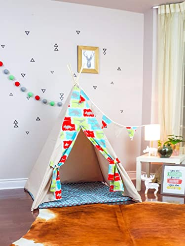 dfc203dd1c01 Amazon.com  The Teepee Store Dinosaurs in Jurassic Park Taupe Kids ...