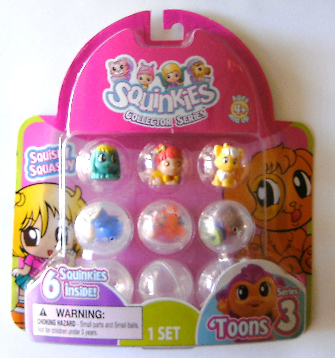 Squinkies Collector Series Toons 3 Spin Master 1001130 1A710693