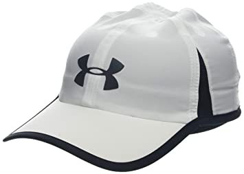 Under Armour Mens Shadow Cap 4.0 Gorra, Hombre, Blanco (White/Black/