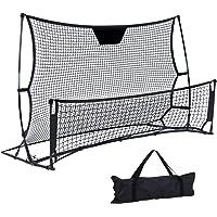 Everfit Soccer Net Portable Football Nets Soccer Goal Outdoor Sports Football Training w/Carry Bag Lightweight Kids Gift…