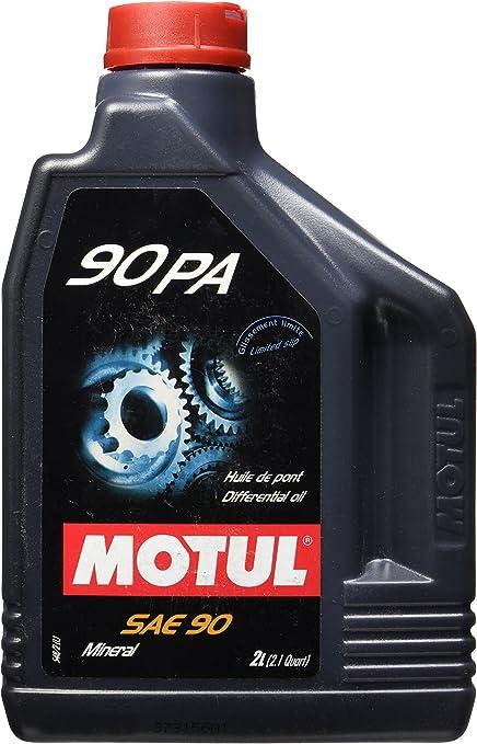 MOTUL 90 PA SAE 90 Aceite Mineral, 2 L: Amazon.es: Coche y moto
