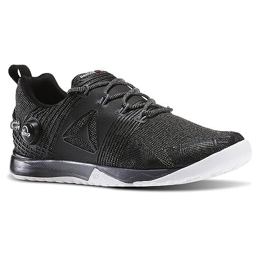 Reebok Women's REEBOK CROSSFIT NANO PUMP 2.0 Training Shoes Black / White /  Alloy (7.5