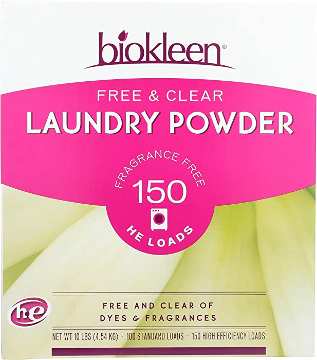Top 9 Free Clear Natural Laundry