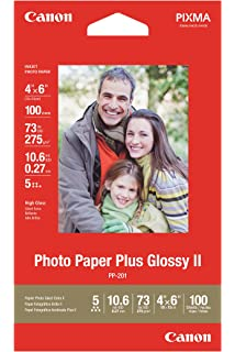 Amazoncom Canon Photo Paper Plus Glossy Ii 5 X 7 Inches 20