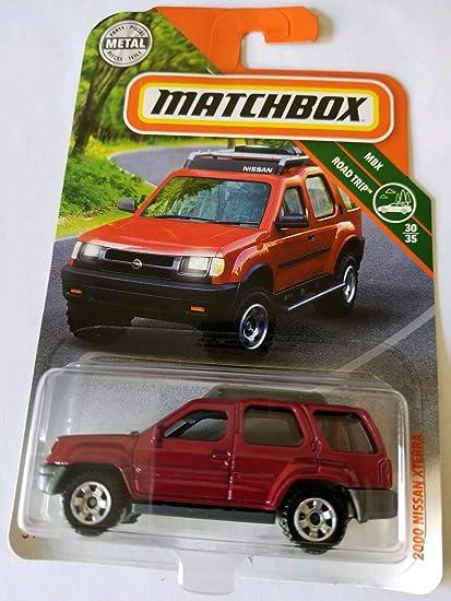 Amazon Com Matchbox 2018 Mbx Road Trip 30 35 2000 Nissan Xterra