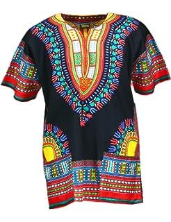 b361bd33ec3 Amazon.com  Lofbaz Traditional African Unisex Dashiki Shirt color ...