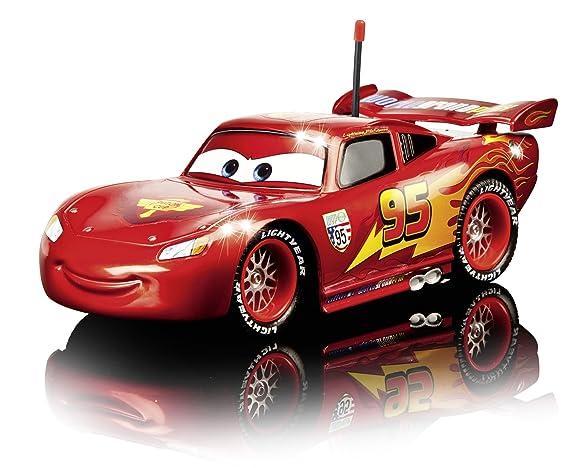 Dickie - Coche radiocontrol Rayo Mcqueen Cars escala 1:24 (Dickie-Spielzeug 203089538): Amazon.es: Juguetes y juegos