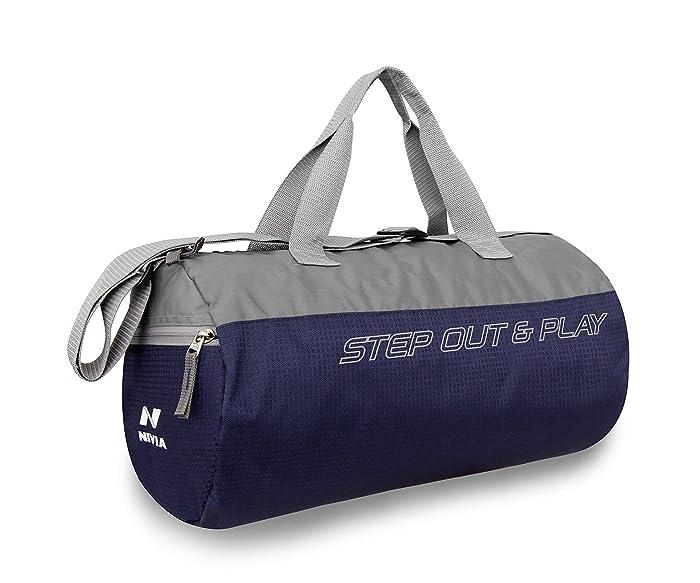 Nivia Beast Gym Bag Blue