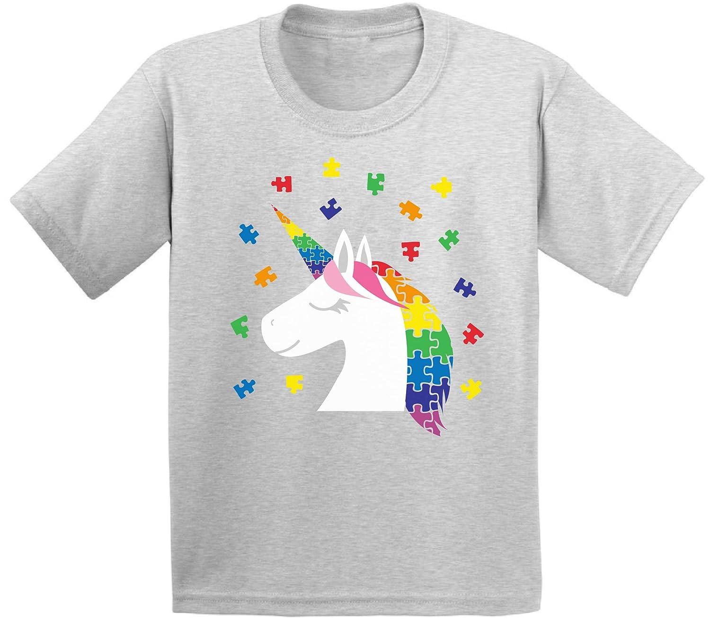 Awkward Styles Autism Awareness Infant Shirt Cute Autism Unicorn Baby Shirt