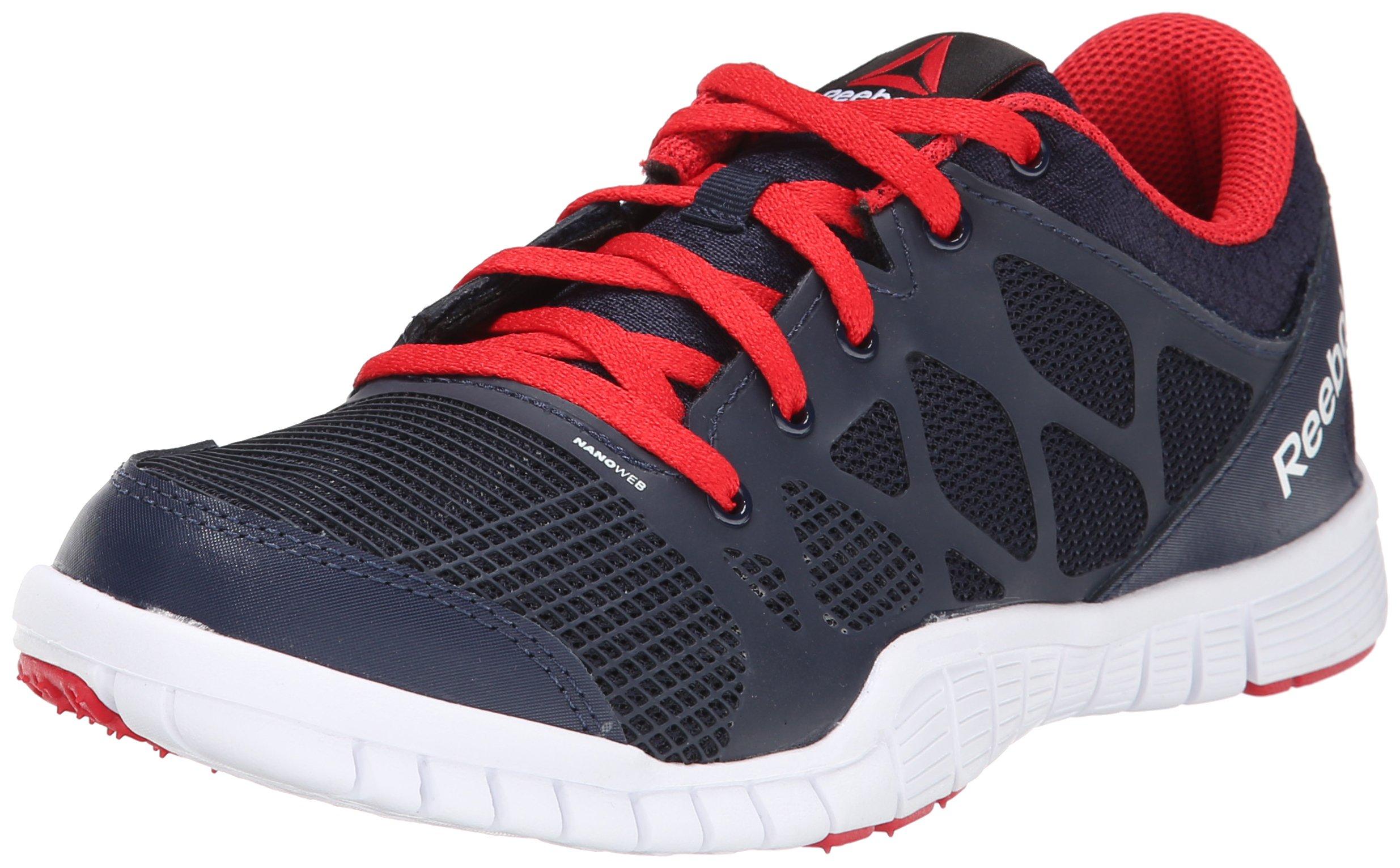 Reebok Zquick TR 3.0 GS Training Shoe,Faux Indigo/Red Rush/White,6.5 M US Big Kid