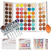 Gorgeous Me Eyeshadow Palette Pigmented Professional Makeup Pallet Long Lasting Eye Makeup Set 63 Colors Waterproof…