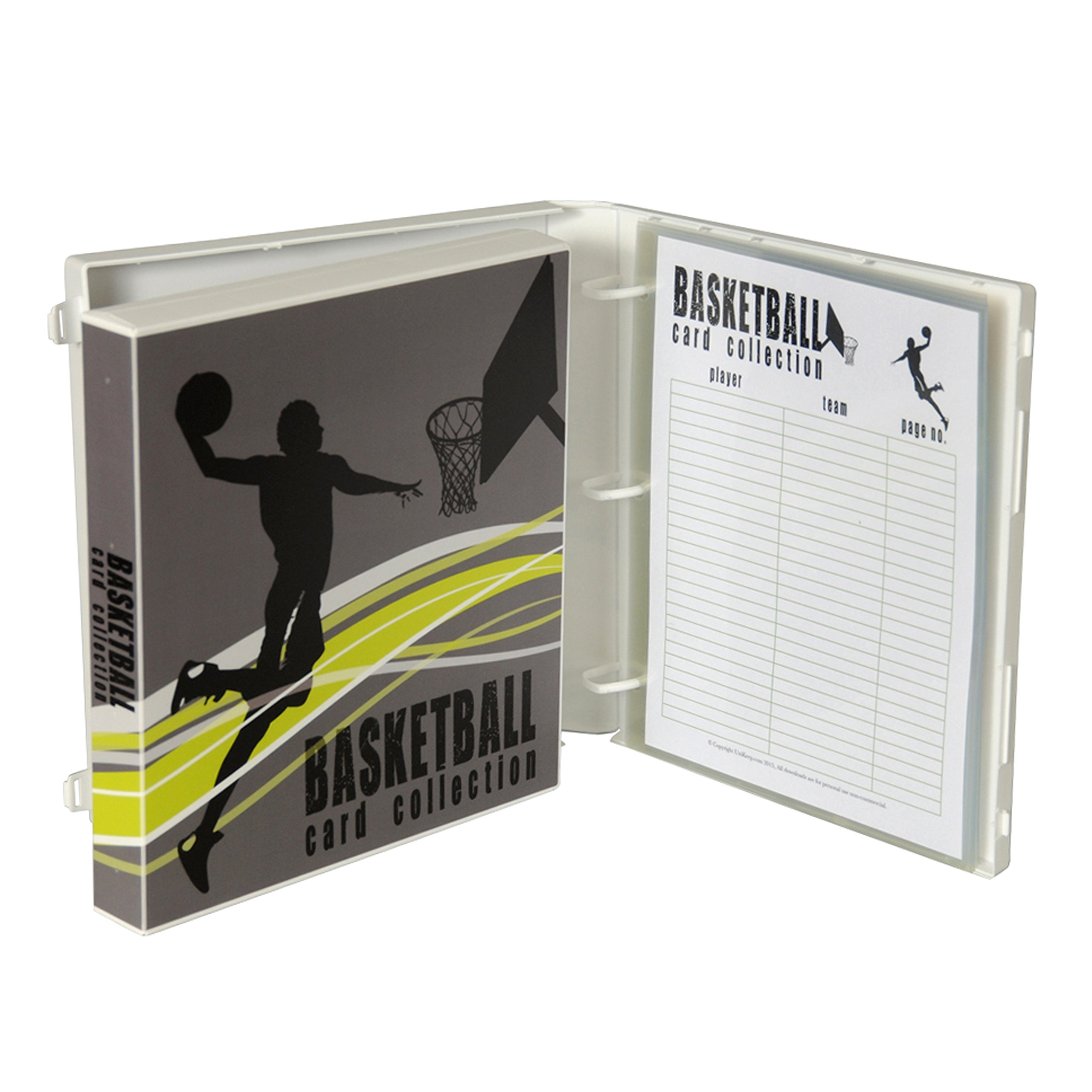 UniKeep Basketball Trading Card Binder by UniKeep