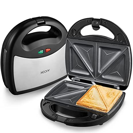 Amazon Aicok Sandwich Maker Panini Press Grill Waffle Maker
