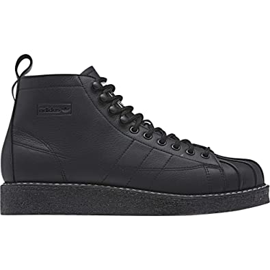 newest collection 887fe a3f32 adidas Damen Superstar Boot Luxe W Fitnessschuhe, Schwarz  (NegbásNegbásFtwbla 000