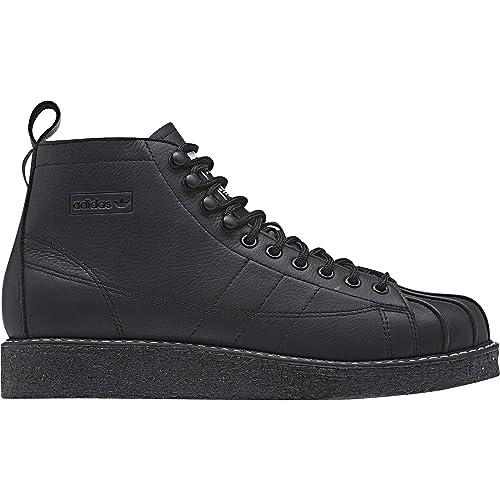 Adidas Superstar Boot Luxe W, Zapatillas de Deporte para Mujer, Negro Negbás/Ftwbla 000, 41 1/3 EU: Amazon.es: Zapatos y complementos