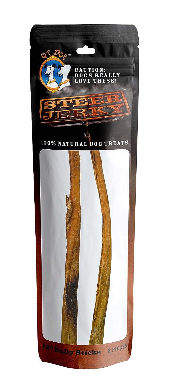 Qt Dog 2 Piece 12  Premium Bully Sticks, One Size
