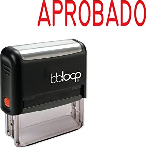 """""""Aprobado"""" Self-Inking Rubber-Stamp in Spanish"""